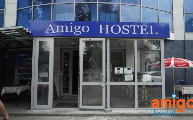 Amigo Hostel Almaty Алматы вид на фасад