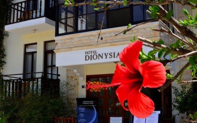Hotel Dionysia Калкан вид на фасад