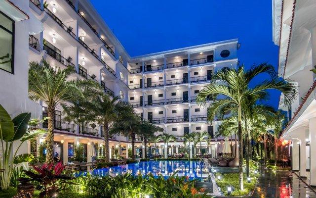 Отель Belle Maison Hadana Hoi An Resort & Spa - managed by H&K Hospitality. вид на фасад