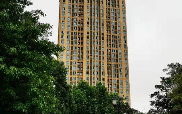 Отель 重庆大学城特丽斯酒店 вид на фасад