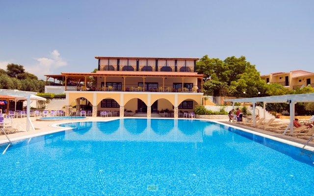 Отель Village Mare Греция, Метаморфоси - отзывы, цены и фото номеров - забронировать отель Village Mare онлайн вид на фасад