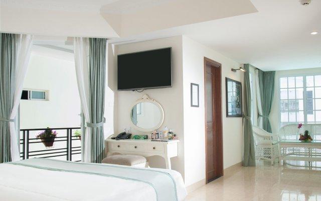 Pavillon Garden Hotel & Spa Нячанг комната для гостей