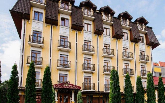 Гостиница Golden Crown Украина, Трускавец - отзывы, цены и фото номеров - забронировать гостиницу Golden Crown онлайн вид на фасад