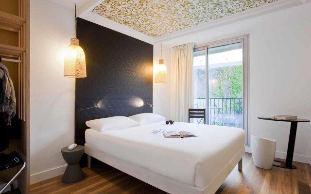 Отель Ibis Styles Paris Buttes Chaumont Париж комната для гостей
