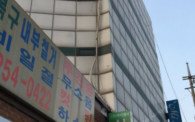 Отель Mi House вид на фасад