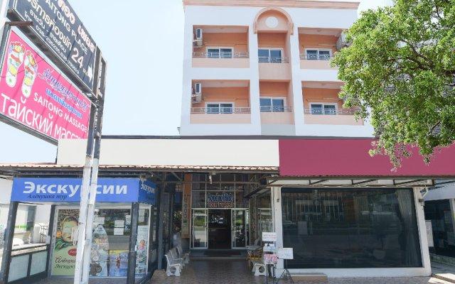 Отель Saithong Place На Чом Тхиан вид на фасад