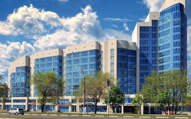 Гостиница Салют в Белгороде 2 отзыва об отеле, цены и фото номеров - забронировать гостиницу Салют онлайн Белгород вид на фасад