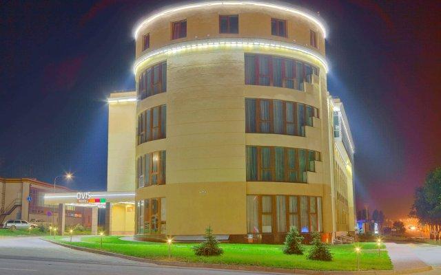 Гостиница OVIS вид на фасад