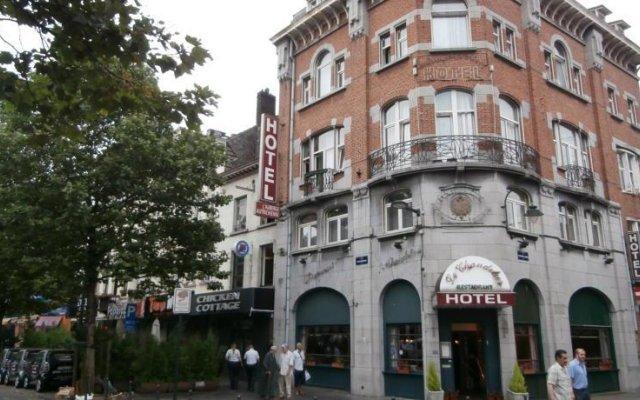 Отель LAuberge Autrichienne Бельгия, Брюссель - отзывы, цены и фото номеров - забронировать отель LAuberge Autrichienne онлайн вид на фасад
