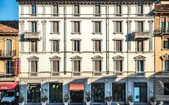 Отель Eurohotel вид на фасад