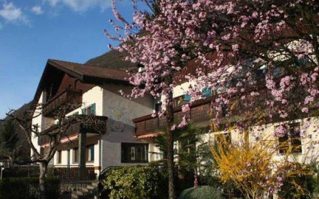 Отель Pension Sonnheim Гаргаццоне вид на фасад