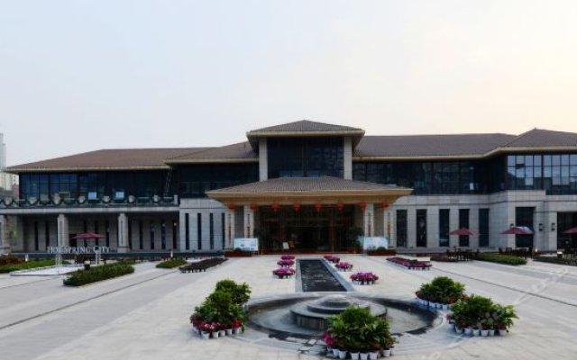 Chongqing Zesheng Hot Spring Hotel вид на фасад