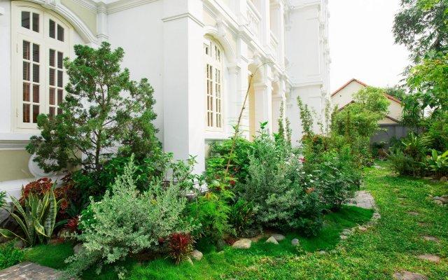 Отель Hoi An Garden Palace & Spa вид на фасад