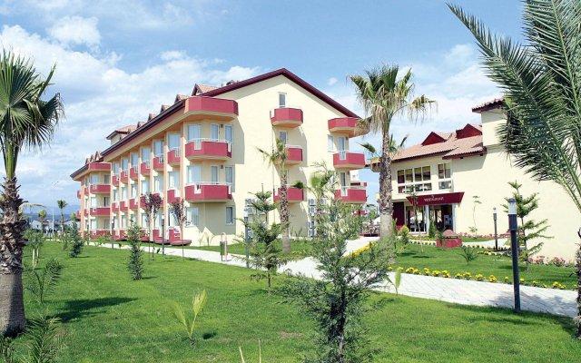 Orfeus Park Hotel Турция, Сиде - 1 отзыв об отеле, цены и фото номеров - забронировать отель Orfeus Park Hotel онлайн вид на фасад