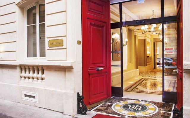 Отель Villa Saint-Honoré Франция, Париж - отзывы, цены и фото номеров - забронировать отель Villa Saint-Honoré онлайн вид на фасад