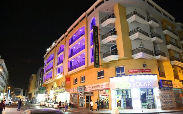 Golden Square Hotel Apartments вид на фасад