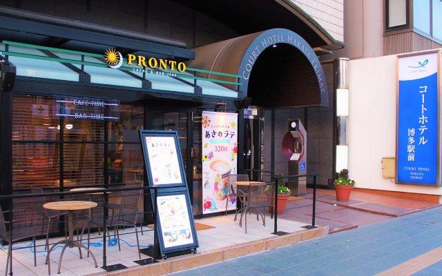 Отель Court Hakata Ekimae Хаката вид на фасад