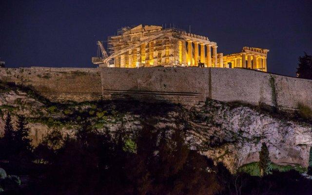Acropolis View Hotel Афины вид на фасад