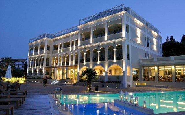 Отель Corfu Mare Boutique Корфу вид на фасад