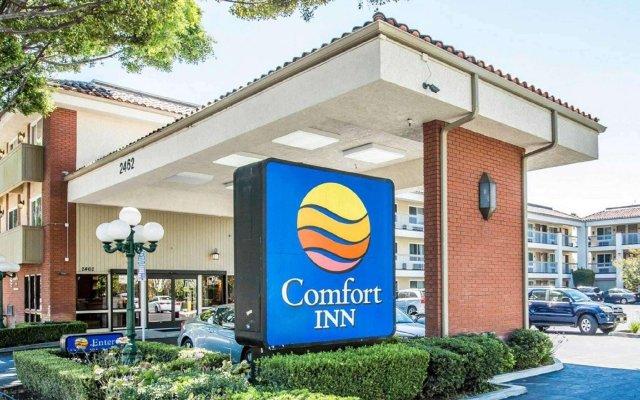 Отель Comfort Inn Near Pasadena Civic Auditorium США, Пасадена - отзывы, цены и фото номеров - забронировать отель Comfort Inn Near Pasadena Civic Auditorium онлайн вид на фасад