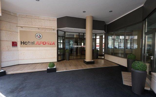 Hotel Apogia Nice вид на фасад