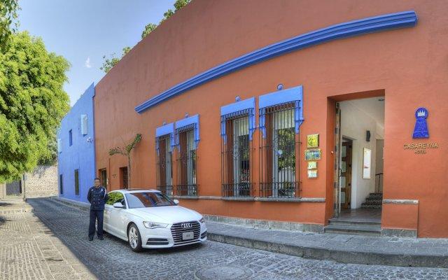 Hotel Boutique Casareyna вид на фасад