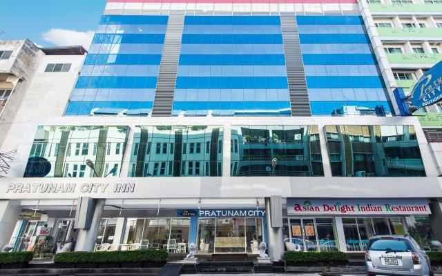 Отель Pratunam City Inn Бангкок вид на фасад
