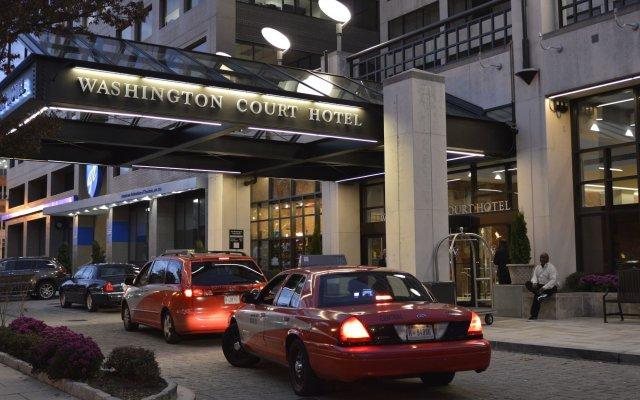 Washington Court Hotel вид на фасад