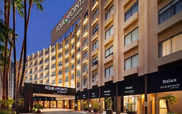 Отель Four Points by Sheraton Los Angeles International Airport (США) США, Лос-Анджелес - 2 отзыва об отеле, цены и фото номеров - забронировать отель Four Points by Sheraton Los Angeles International Airport (США) онлайн вид на фасад