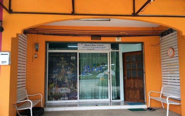 Отель Best Rent a Room вид на фасад