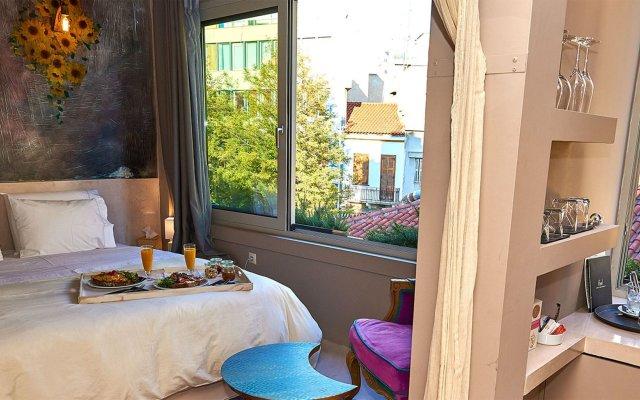 Отель Andronis Athens Греция, Афины - 1 отзыв об отеле, цены и фото номеров - забронировать отель Andronis Athens онлайн комната для гостей
