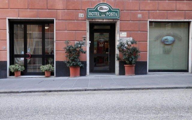 Отель Albergo Posta вид на фасад