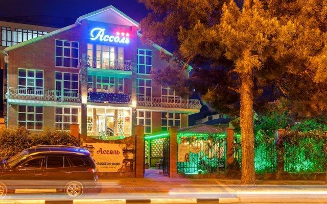 Assol Hotel вид на фасад