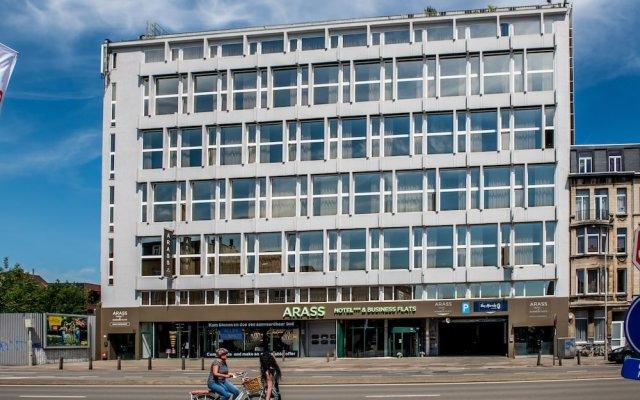 Arass Hotel вид на фасад