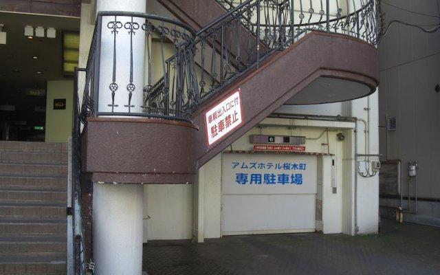 Amuz Hotel Тояма вид на фасад