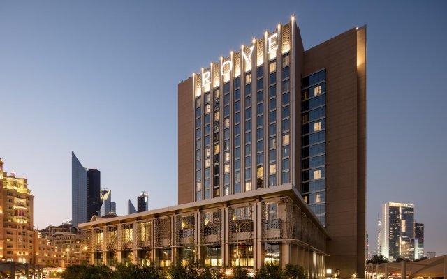 Отель Rove Downtown Dubai вид на фасад