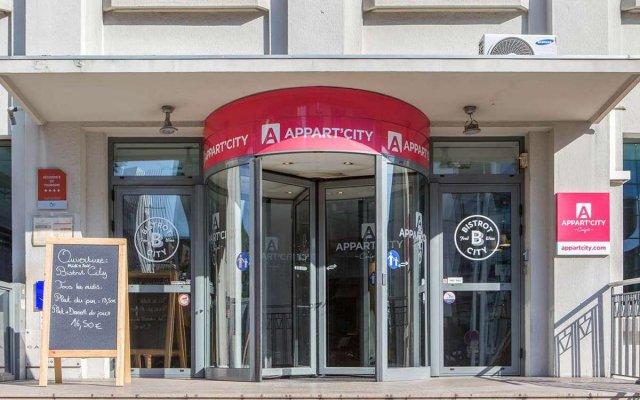 Отель Appart'City Lyon Part Dieu вид на фасад