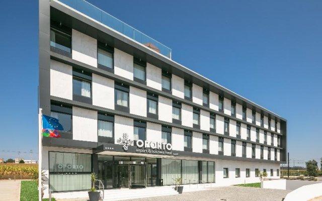 Отель Oporto Airport & Business Hotel Португалия, Майа - отзывы, цены и фото номеров - забронировать отель Oporto Airport & Business Hotel онлайн вид на фасад