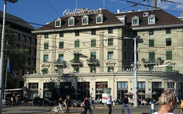 Отель Central Plaza Hotel Швейцария, Цюрих - 5 отзывов об отеле, цены и фото номеров - забронировать отель Central Plaza Hotel онлайн вид на фасад
