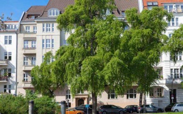Отель Pension Am Park Германия, Берлин - отзывы, цены и фото номеров - забронировать отель Pension Am Park онлайн вид на фасад