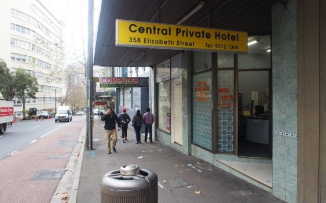 Central Private Hotel Surry Hills Australia Zenhotels