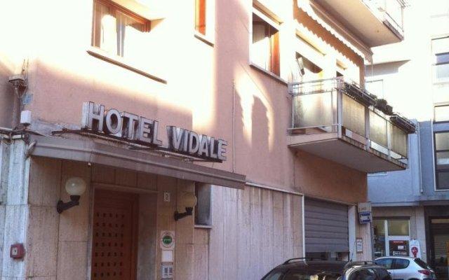 Hotel Vidale вид на фасад