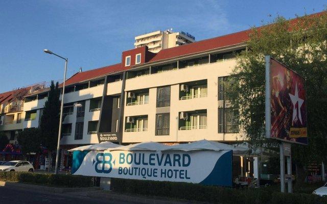 Boulevard Boutique Hotel вид на фасад
