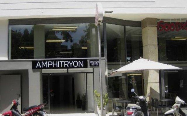 Amphitryon Boutique Hotel вид на фасад