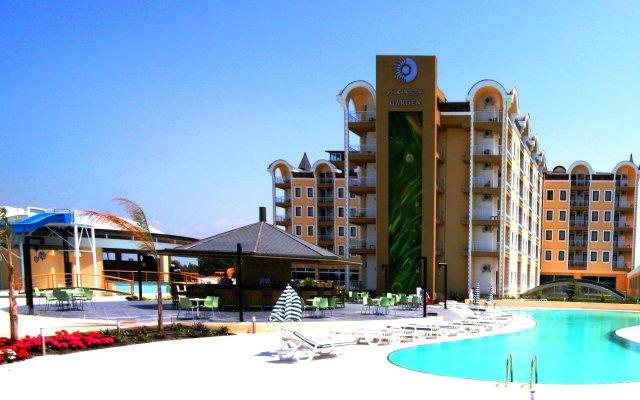 Maya World Belek Турция, Белек - 1 отзыв об отеле, цены и фото номеров - забронировать отель Maya World Belek онлайн вид на фасад