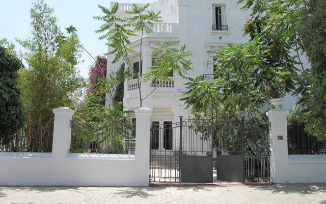 Villa Les Palmes in Tunis, Tunisia from 65$, photos, reviews - zenhotels.com hotel front