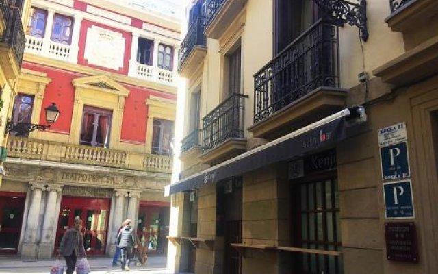 Отель Pension Koxka Bi вид на фасад