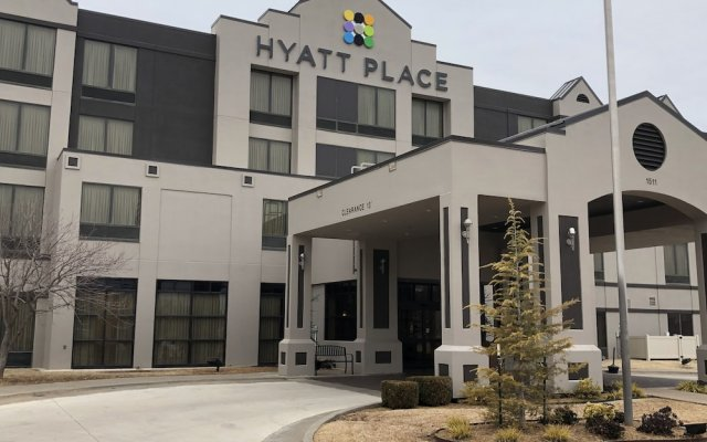 Отель Hyatt Place Oklahoma City - Northwest вид на фасад