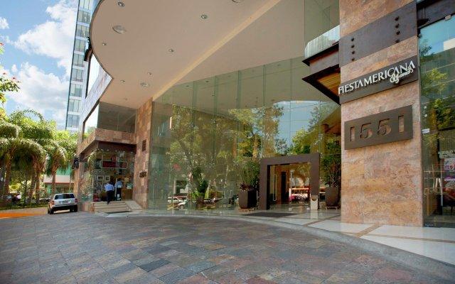 Отель Fiesta Americana Grand Country Club Гвадалахара вид на фасад