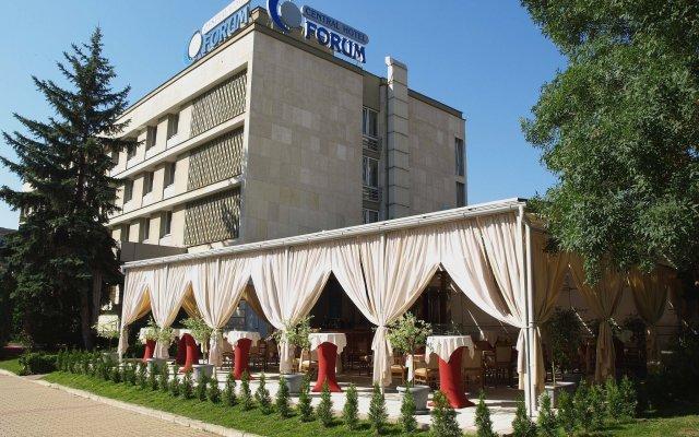 Central Hotel Forum вид на фасад